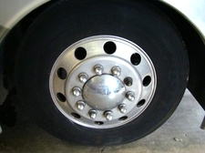 USED RV 22.5 INCH ALUMINUM MOTORHOME WHEELS FOR SALE