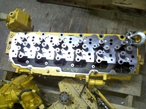 Used CAT Engine Head Assembly C9