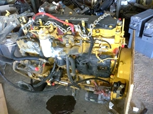 Used CAT C7 Diesel Motor Year 2004