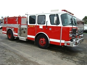 2000 E-ONE FIRETRUCK PUMPER FOR SALE