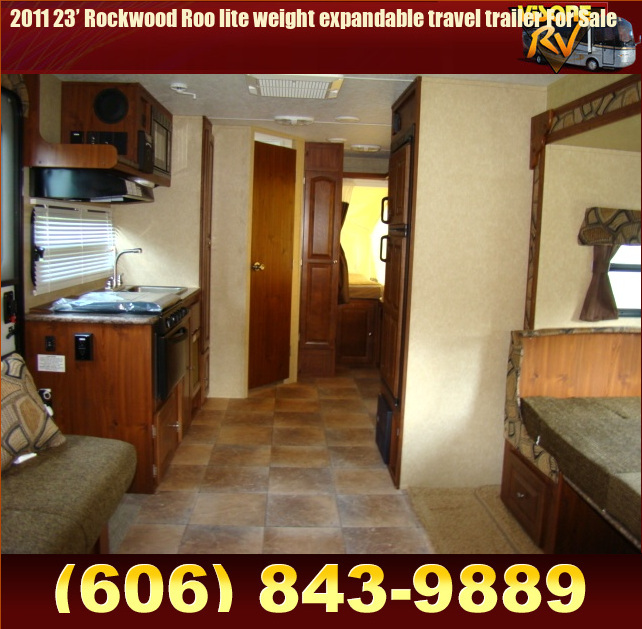 Used RV Parts 2011 23' Rockwood Roo lite weight expandable ...