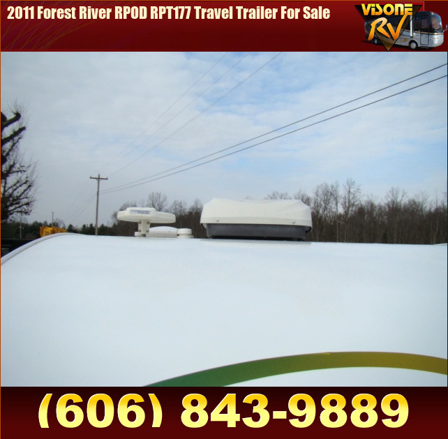 Used RV Parts 2011 Forest River RPOD RPT177 Travel Trailer ...