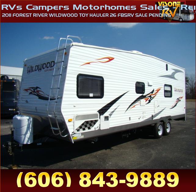 Used Rv Parts 2011 Forest River Wildwood Toy Hauler 26 Fbsrv Sale Pending Rvs Campers Motorhomes Sales Rentals Toyhauler Ebay Com