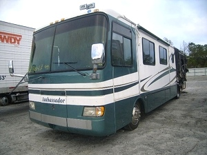 HOLIDAY RAMBLER AMBASSADOR PART FRONT CAP FOR SALE  - USED MOTORHOME PARTS
