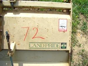 Used RV Parts USED Land Pride RTA 3576 3 pt  PTO tiller For Sale