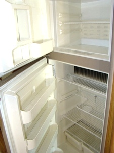 USED RV REFRIGERATOR DOMETIC RM2852 FOR SALE
