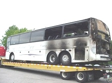 1991 Vanhool T840 Passenger Bus - Parting Out - Used Bus Part For Sale