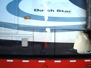 2004 NEWMAR DUTCH STAR MOTORHOME SALVAGE USED PARTS FOR SALE VISONE RV