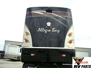 2006 ALLEGRO BAY FRONT ENGINE DIESEL MOTORHOME PARTS - VISONE RV SALVAGE