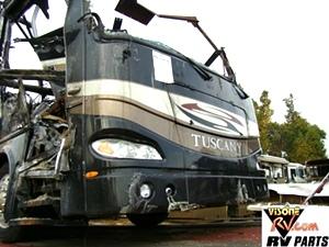 DAMON RV PARTS 2007 TUSCANY MOTORHOME SALVAGE VISONE RV